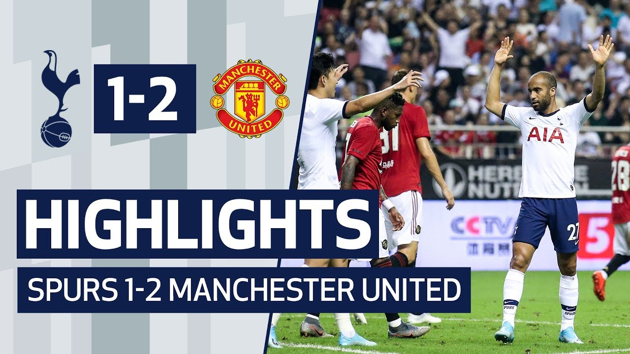 Manchester United vs. Tottenham Hotspur - Football Match Report ...