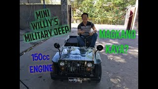 MINI Willy's JEEP - MILITARY JEEP 150cc Engine