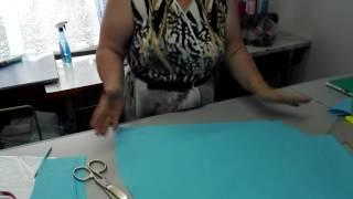 Как пошить юбку солнце клеш(Крой юбки солнце клеш, построение выкройки и расчет ткани на юбку. В этом выпуске мы научимся шить юбку солн..., 2016-06-26T17:33:37.000Z)