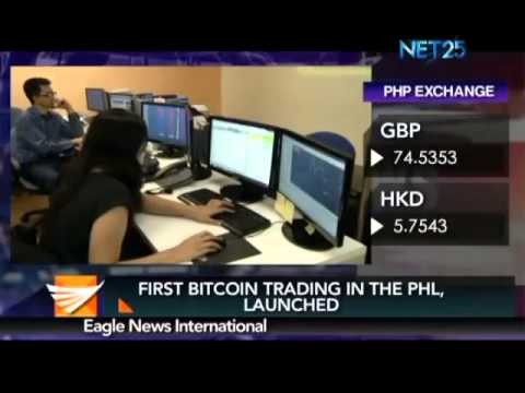 First bitcoin trading in the PHIL launched