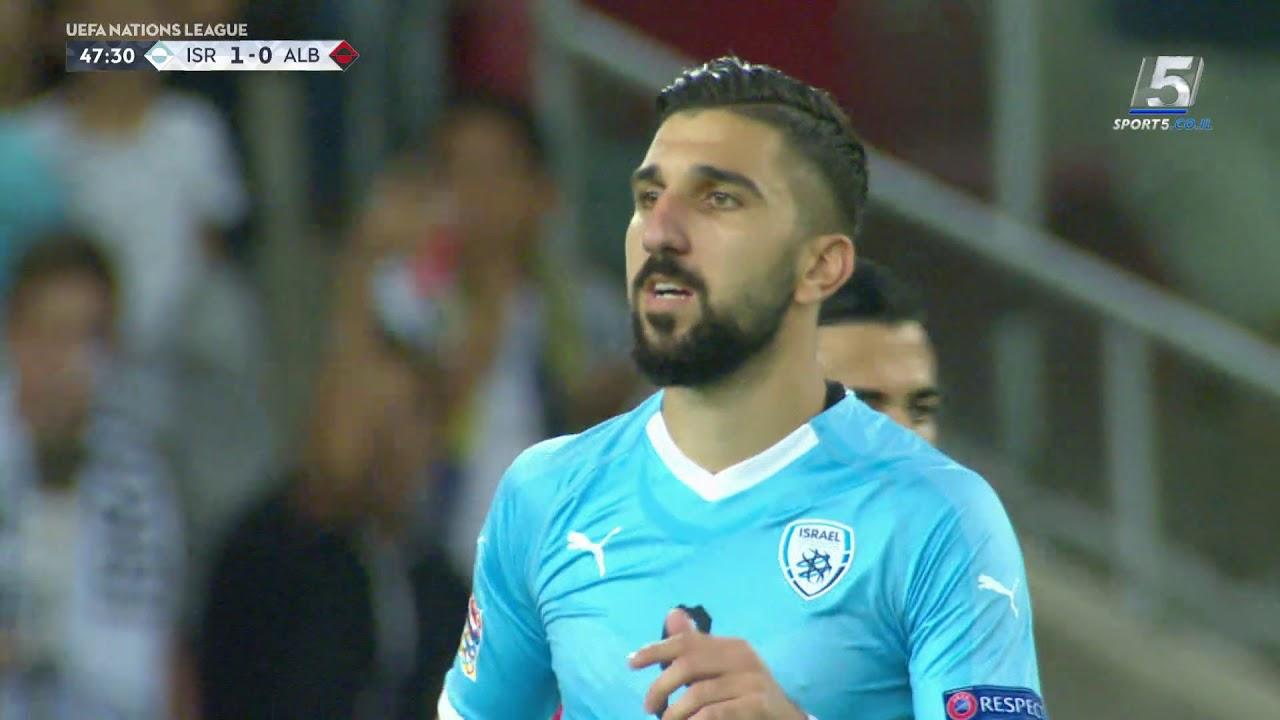 ליגת האומות: ישראל - אלבניה 0-2 | תקציר - YouTube