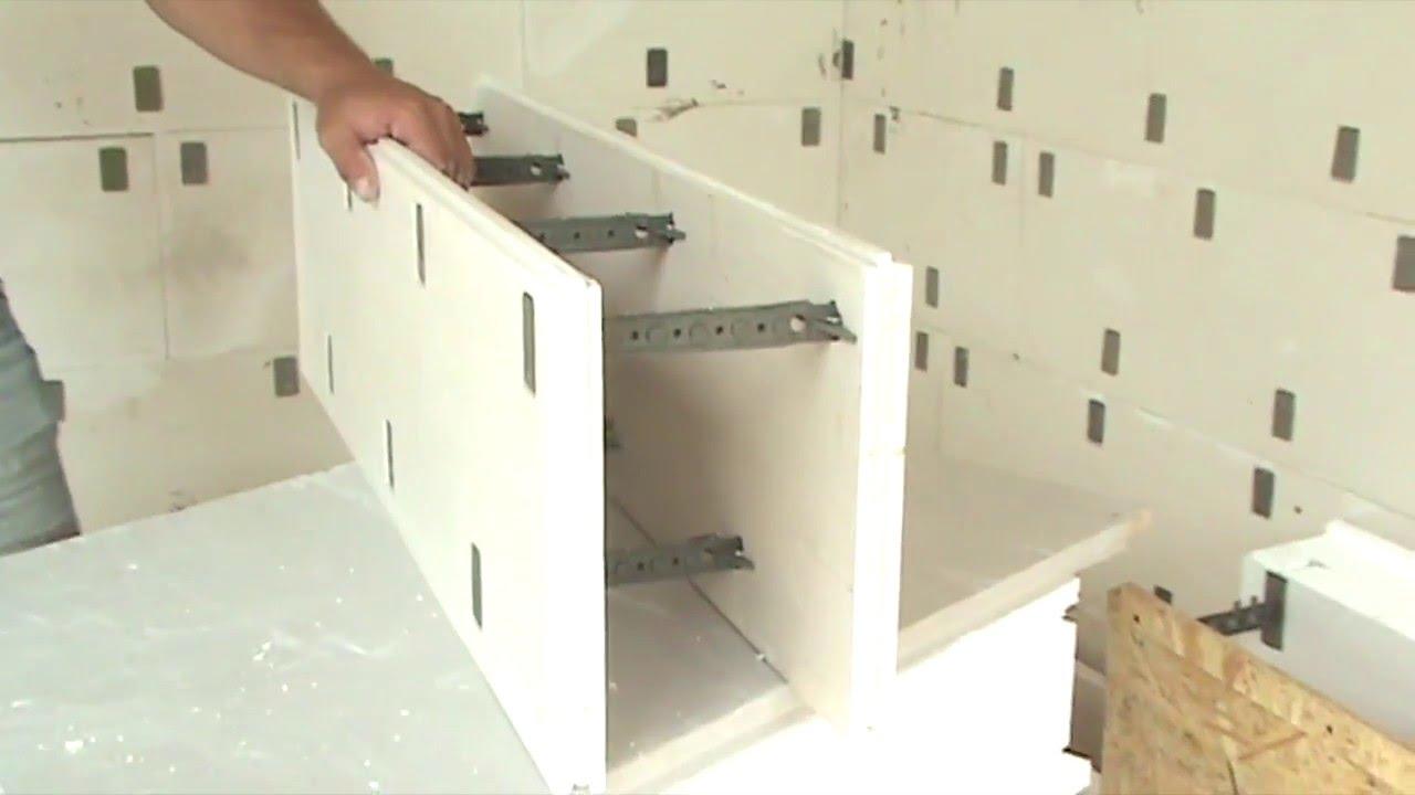 Блок внутренней несущей стены 1