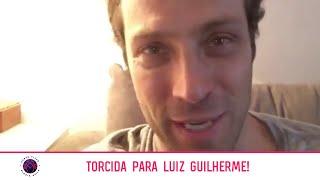 Baixar Fernando Pavão @fepavao e Adriana Lessa @adrianalessaoficial na torcida por Luiz Guilherme