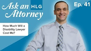 How Much Will a Disability Lawyer Cost Me? thumbnail image