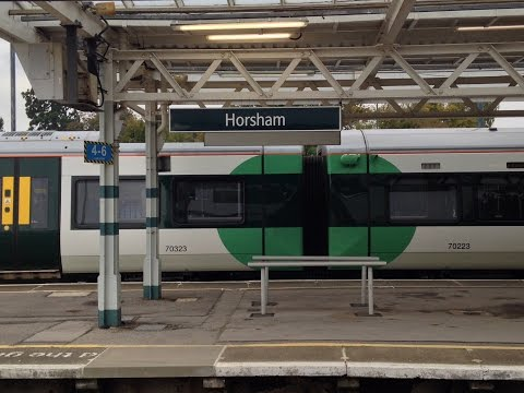 Full Journey on Southern from London Victoria to Horsham (via Leatherhead)