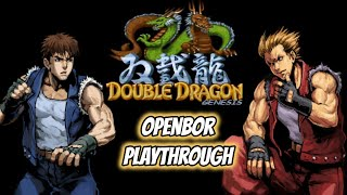 Double Dragon Genesis OpenBOR | 1cc Playthrough