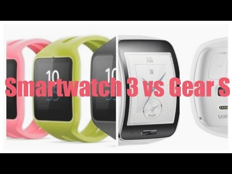 Sony Smartwatch 3 vs Samsung Galaxy Gear S Official Ads - YouTube 9bc2330c2d4