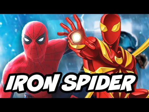 Spider Man Homecoming Iron Spider Suit Upgrades