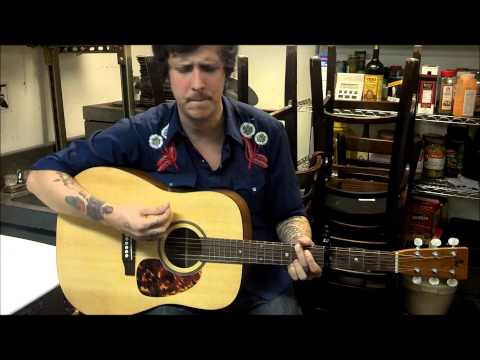 "BJ Barham (American Aquarium) performing ""Road To Nowhere"" on Robert Childs' Guitar"