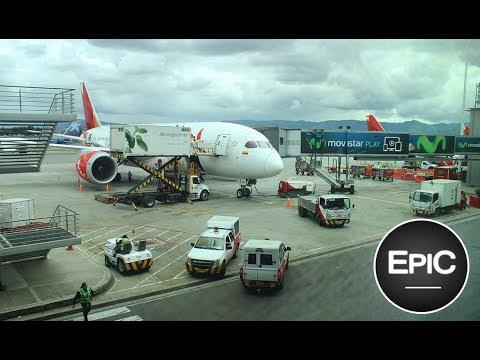 Aterrizaje en Bogotá (Aeropuerto El Dorado) / Landing at Bogotá - Colombia (HD)
