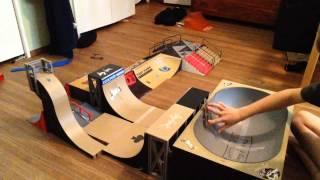super cool tech deck tricks