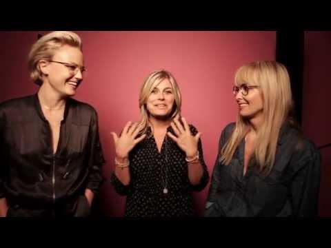 Smarteyes - Behind the scenes med Pernilla Wahlgren, Malin Åkerman och Izabella Scorupco.