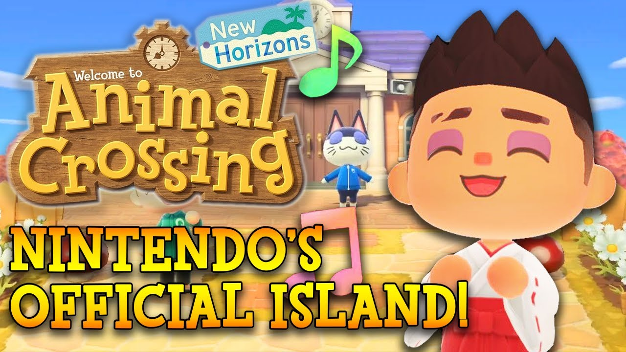 Seeing what's on Nintendo's OFFICIAL island!