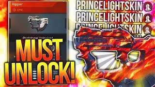 """MUST UNLOCK EPIC WEAPON AFTER UPDATE! (FREE EPIC WEAPON) - Infinite Warfare """"EPIC RIPPER"""" Setup"""