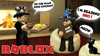 AVERTISSEMENT SOME POWERFULL MAGIC SPELLS in ROBLOX WIZARD LIFE