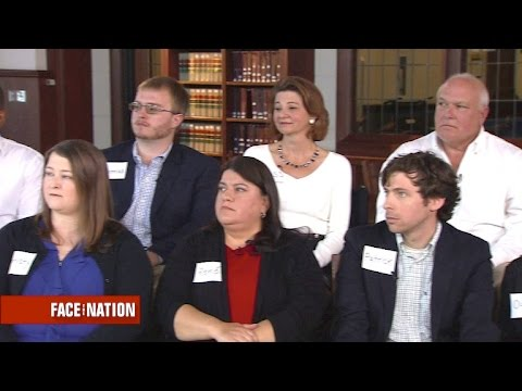 "Extended ""Face the Nation"" focus group, part 1"