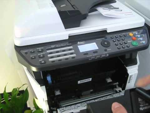 okm2000.de Kyocera FS-1030 -1035 - 1130 - 1135MFP Monolaser MFP Tonerwechsel