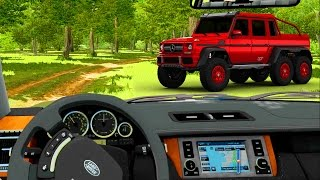 City Car Driving - Fuoristrada (Mercedes 6x6, Range Rover, X5, Qashqai)