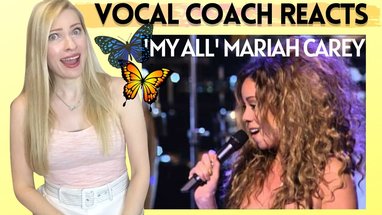 Vocal Coach Reacts: MARIAH CAREY 'My All' Live!