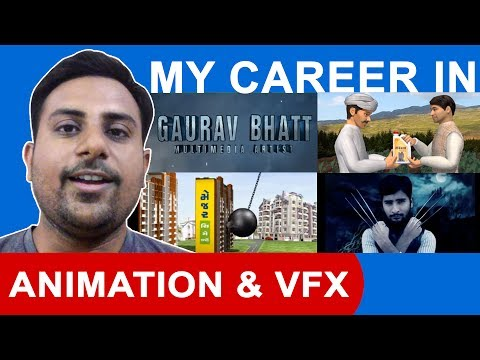 My Career in Animation & Vfx Hindi | Earnings | Work Experience | Gaurav Bhatt