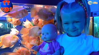 ✔ Nenuco Doll and Yaroslava are having a good time in the Oceanarium. Ярослава Часть 1 Серия 48