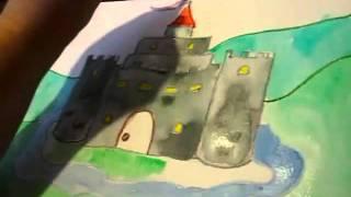 Fairytale Castle Art Lesson