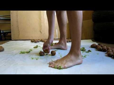Video 25 - Epic barefoot kiwi stomping