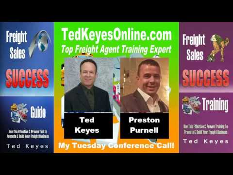 [TKO] ♦ Freight Sales Expert Guest - Preston Purnell ♦ TedKe