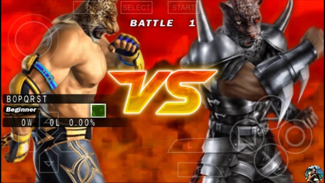 Tekken 5 Dark Resurrection King Vs Armor King Gameplay Psp Hd
