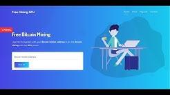 bitcoinmining.news review | Free GPU Mining | 100% Legit | Free Bitcoin Mining