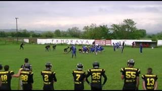 3. Kolo DLS: Jagodina Black Hornets – Novi Sad Wild Dogs 2. Poluvreme