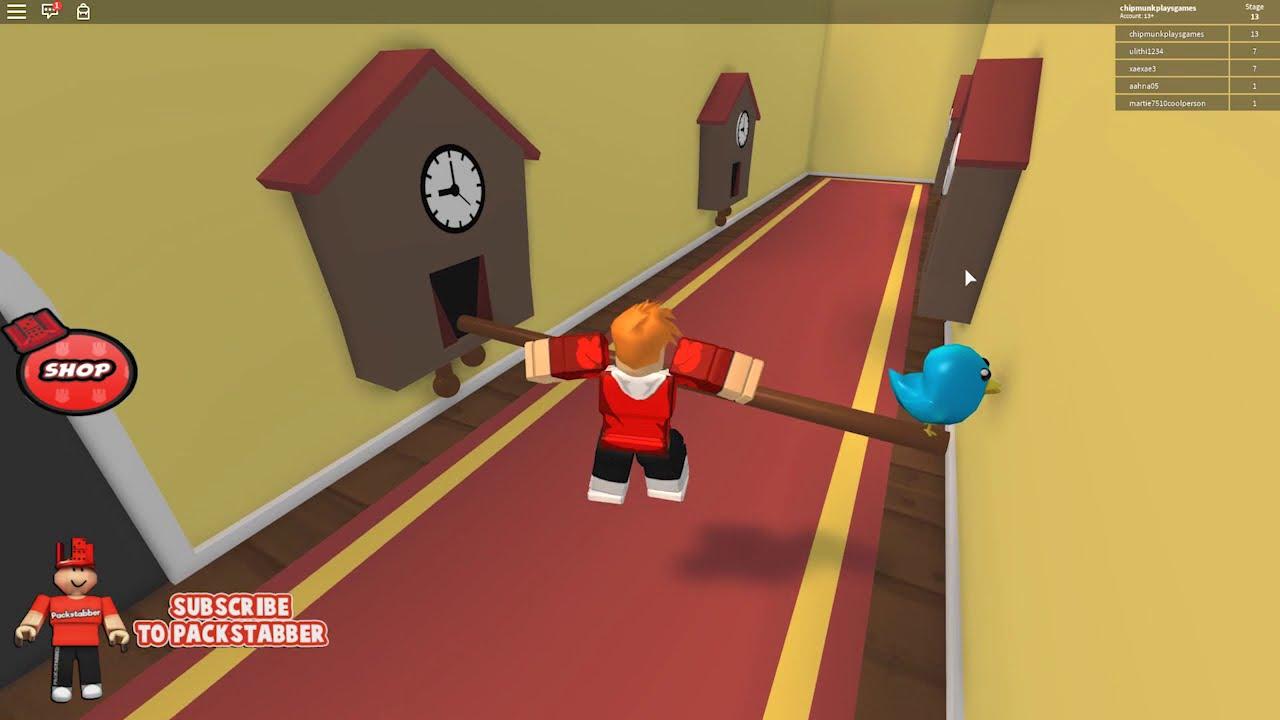 Escape Evil Grandma S House In Roblox Youtube - Chipmunk Vs Evil Grandmas House In Roblox Escape Grandma S House