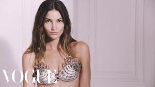 Lily Aldridge Unveils the 2015 Victoria