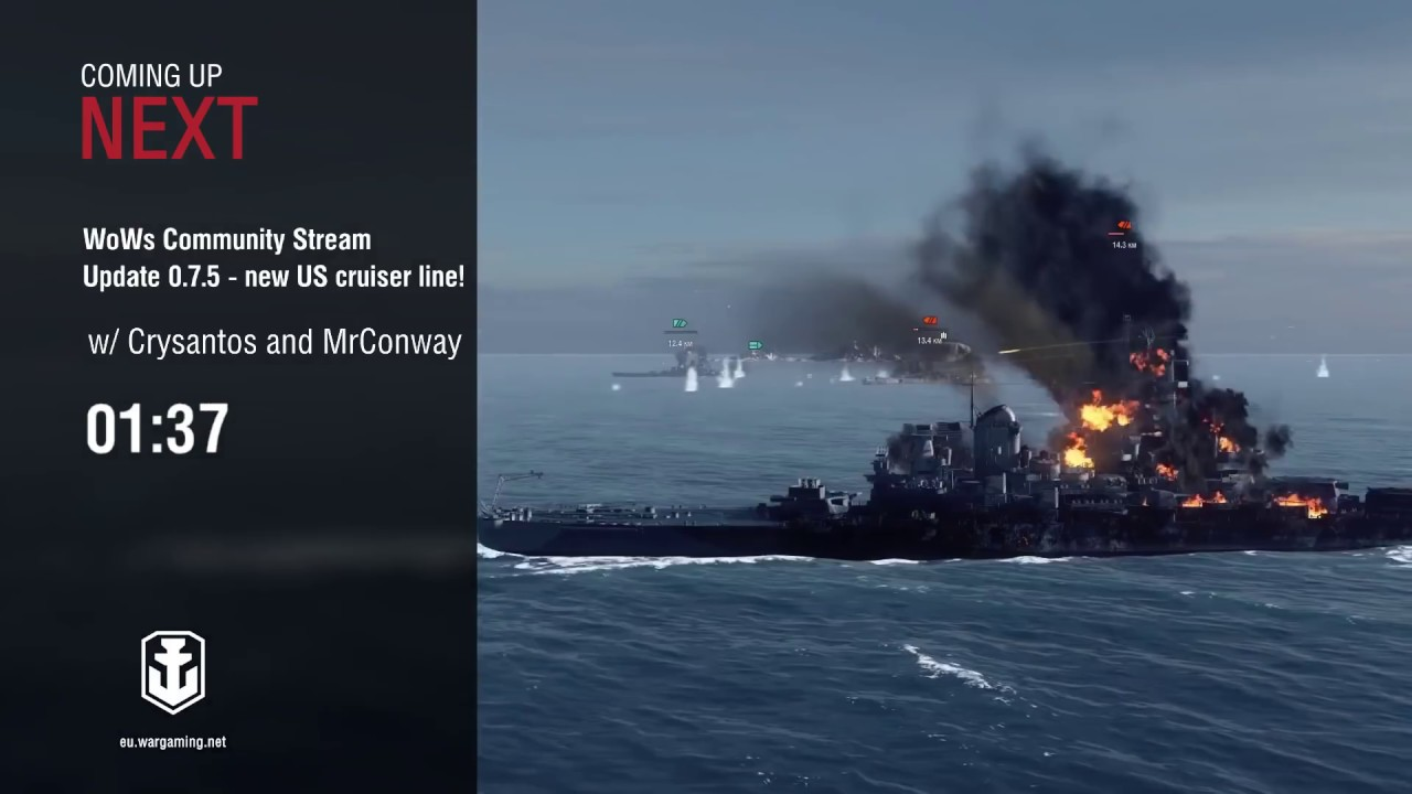 Crysantos and MrConway present Update 0 7 5 - new US cruiser line! [World  of Warships]