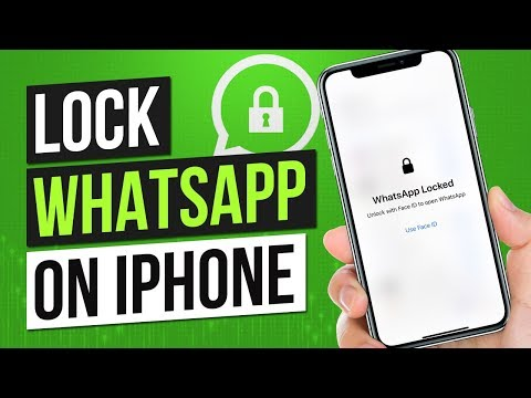How To Lock WhatsApp On IPhone 2019 New Trick!!! | WhatsApp Hide Chat