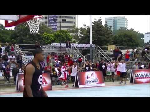 LA Lights Streetball 2013 - Top 10 Plays Open Run Jakarta