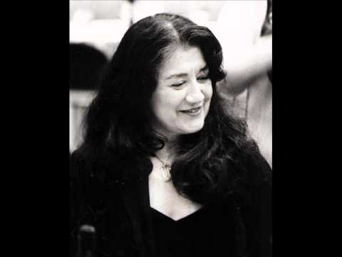 Martha Argerich Chopin prelude no.24 in d minor