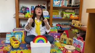 RAINBOW SONG  #nurseryrhymes #kidssongs #childrensmusic #funathome#kidslearningenglish
