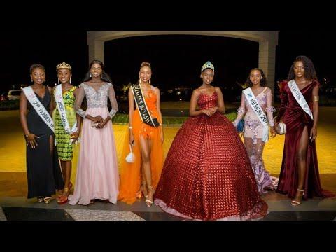 African Beauty Queens Grace Miss Rwanda 2020 Grand Finale