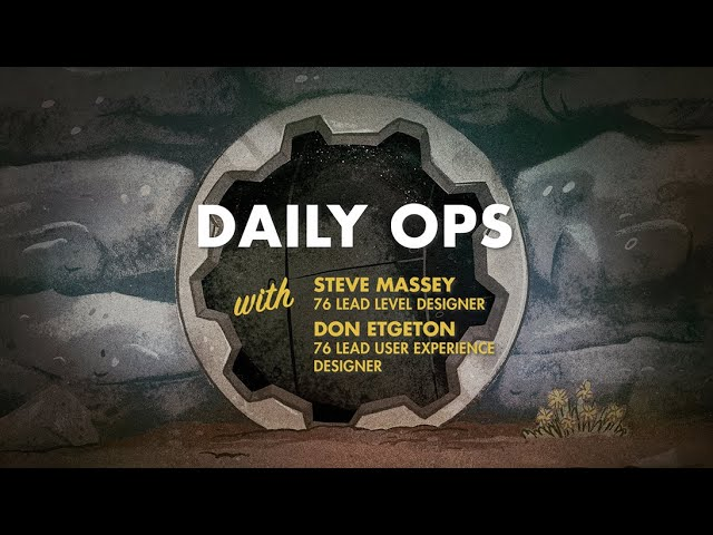 Fallout 76: Daily Ops (Developer Gameplay)