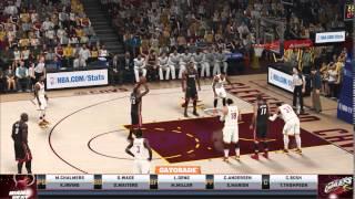 NBA 2K15 PC Gameplay 750 Ti