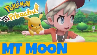 Pokemon Let S Go pikachu Mt Moon Guide