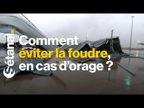 PLUIES AU SÉNÉGAL | Voici comment éviter la foudre, en cas d'orage ?