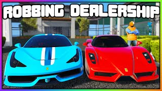 GTA 5 Roleplay - ROBBING DEALERSHIP FOR $3M | RedlineRP