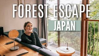 Escaping to the Japanese Mountains before a Typhoon.