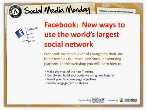 Social Media Monday: New Ways to use the World's Largest Soc