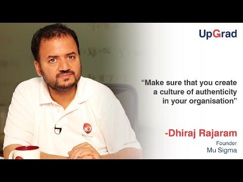 Entrepreneur Speak with Dhiraj Rajaram, Mu Sigma
