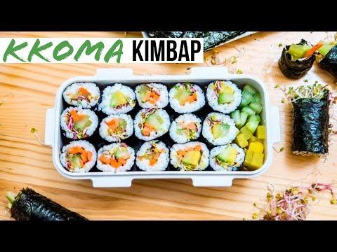 Korean Dosirak II: Kkoma Kimbap... Classic Version & Spam-Mari!