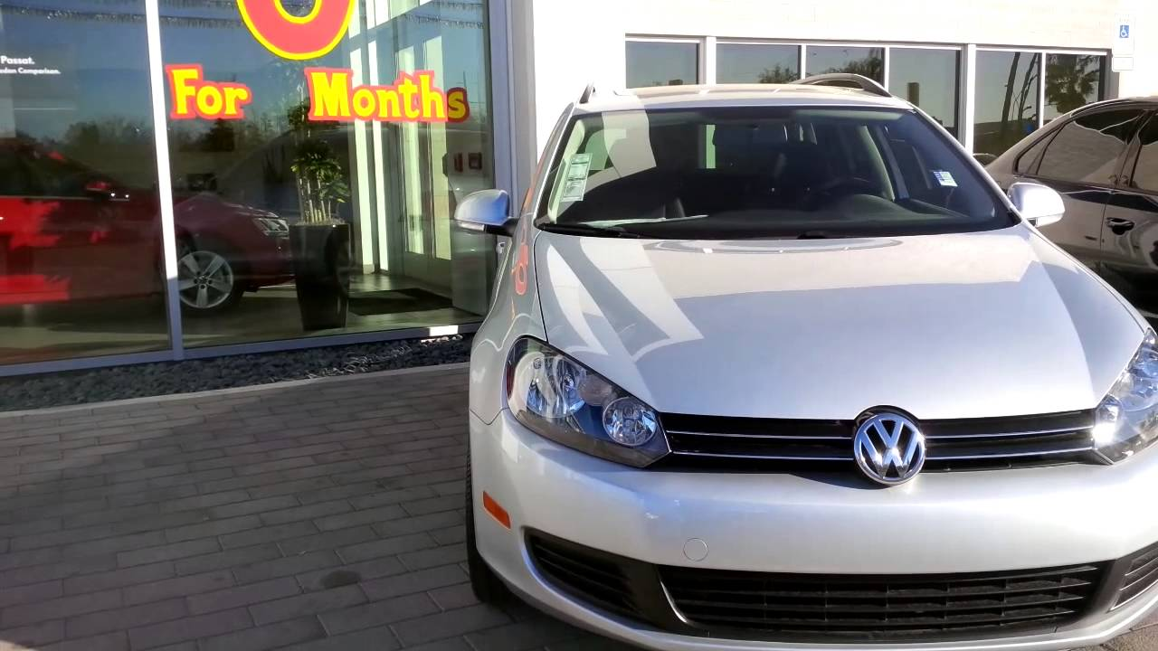 Larry Miller Volkswagen >> VW Jetta SportWagen - Larry Miller VW Tucson - Kyle - YouTube