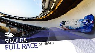 Sigulda | BMW IBSF World Cup 2020/2021 - 2-Man Bobsleigh Race 1 (Heat 1) | IBSF Official